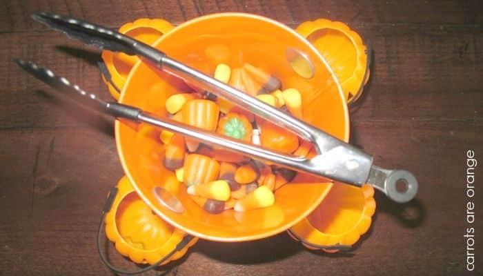 Halloween Practical Life Activity