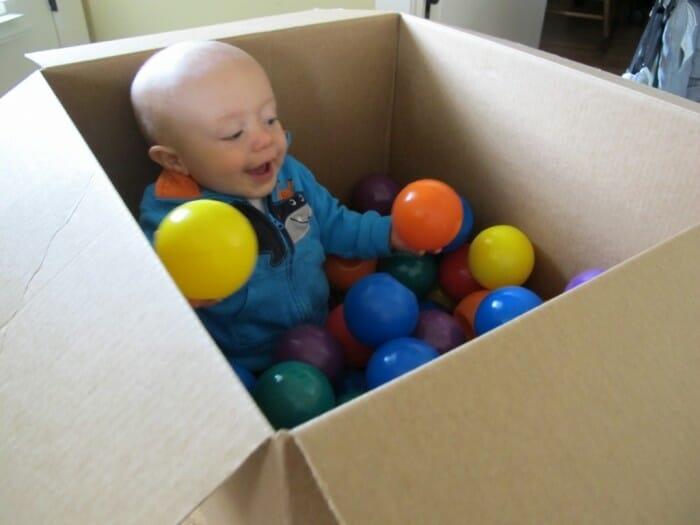 sensory activity for infants