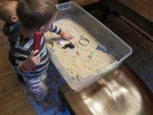 DIY Magnetic Sand Table