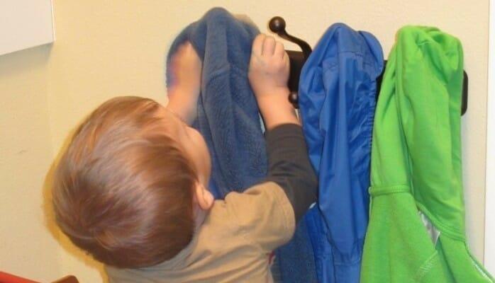 Kid's Coat Rack