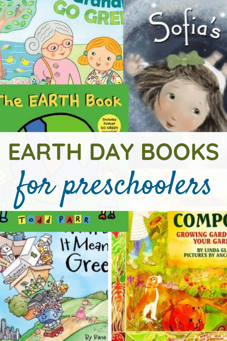 5 of the BEST Earth Day Books for Preschoolers