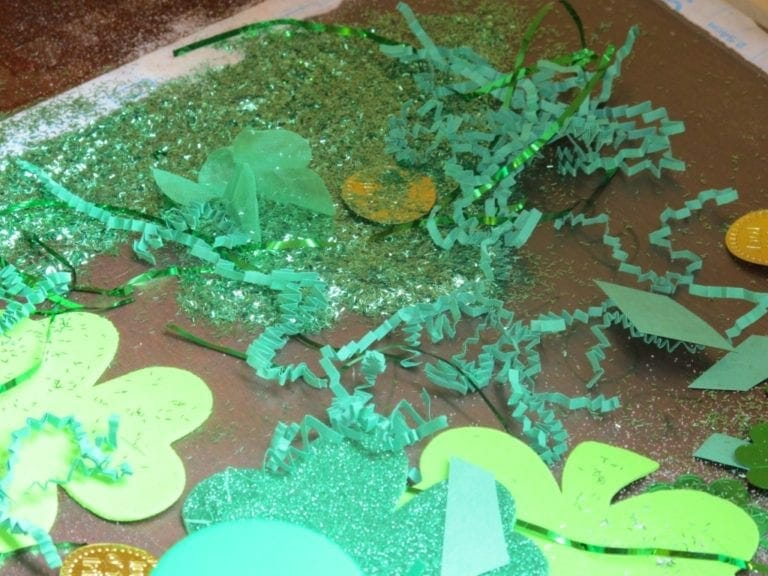 St. Patrick's Day Table for Preschoolers and Toddlers