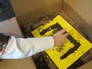 Letter E Preschool Earth Day Activity