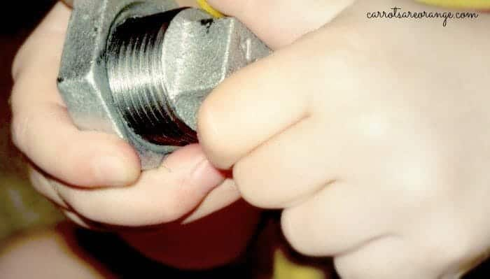Nuts and Bolts Fine Motor Work