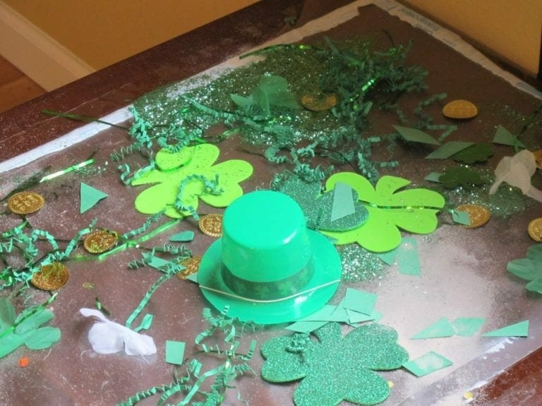 St. Patrick's Day Activity for Preschoolers and Toddlers
