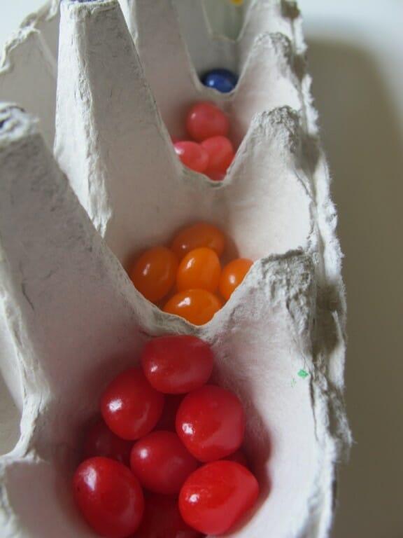 Montessori Easter Activities sorting
