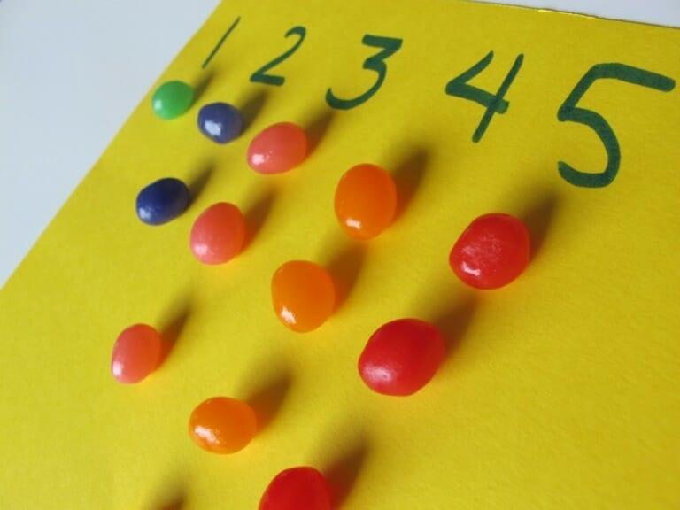 Montessori Easter Activities math