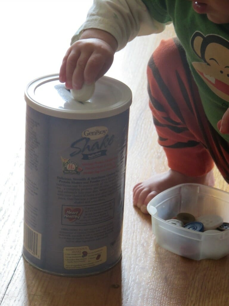 DIY Montessori Toys for Babies - Simple Fine Motor Skills with Recycled Materials