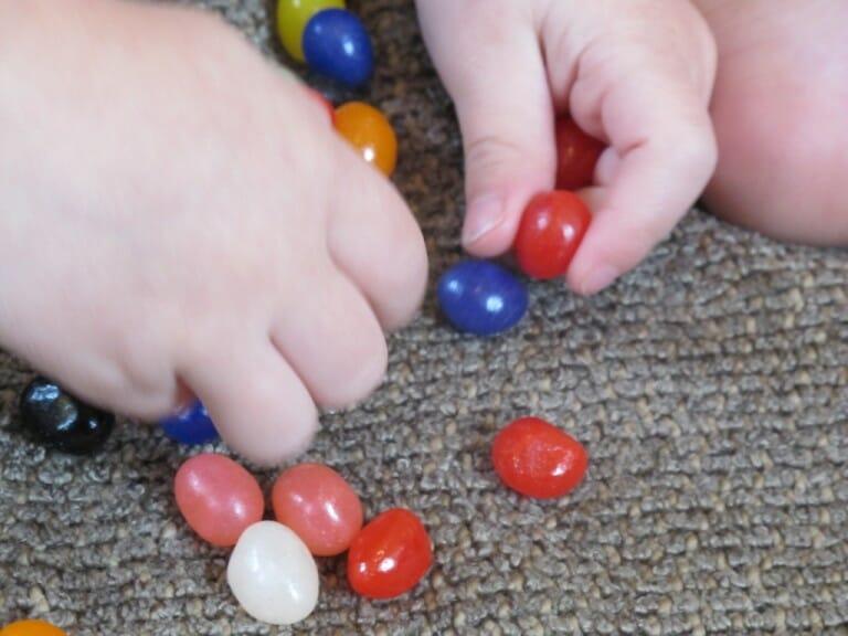 Montessori Easter Activities fine motor skills