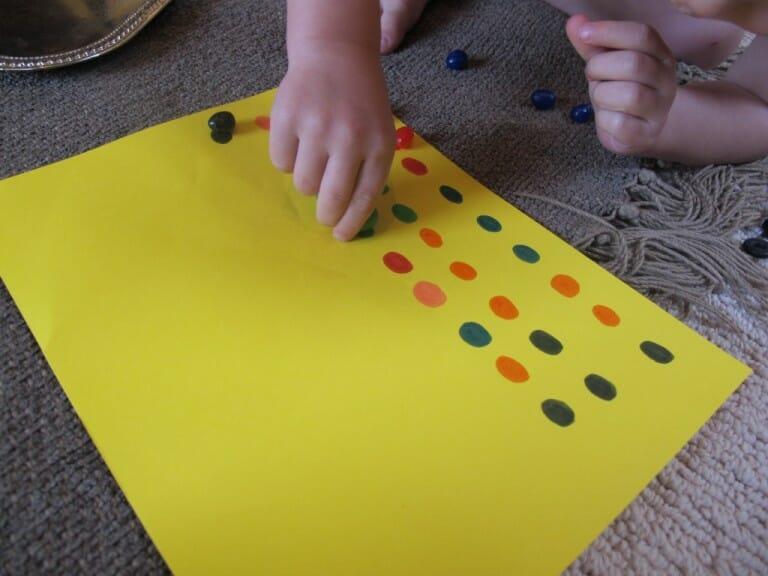 Montessori Easter Activities patterns