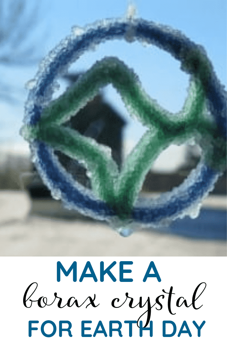 Make a Borax Crystal for Earth Day
