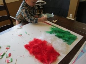 Cinco de Mayo Preschool Activity - Mexican Flag