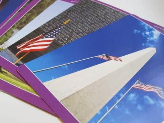 Cards of the National Monuments