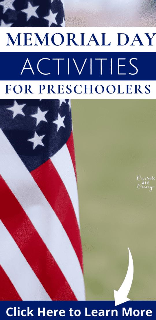 Memorial Day Activities for Preschoolers