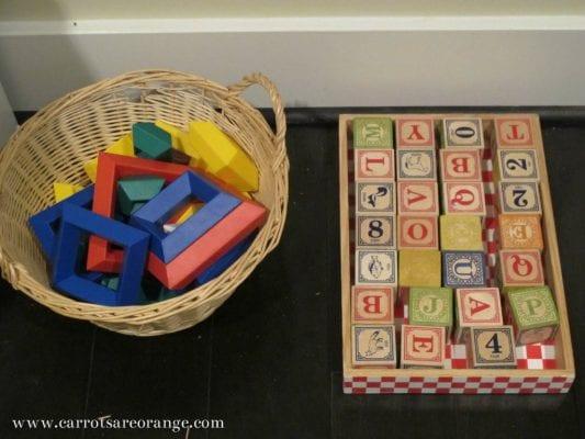 Montessori Playroom Environment