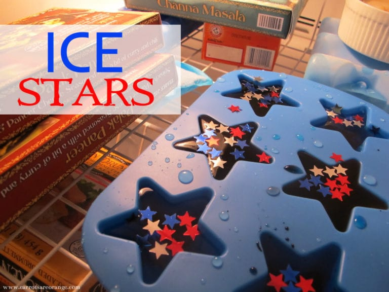 Ice Stars Patriotic Activity