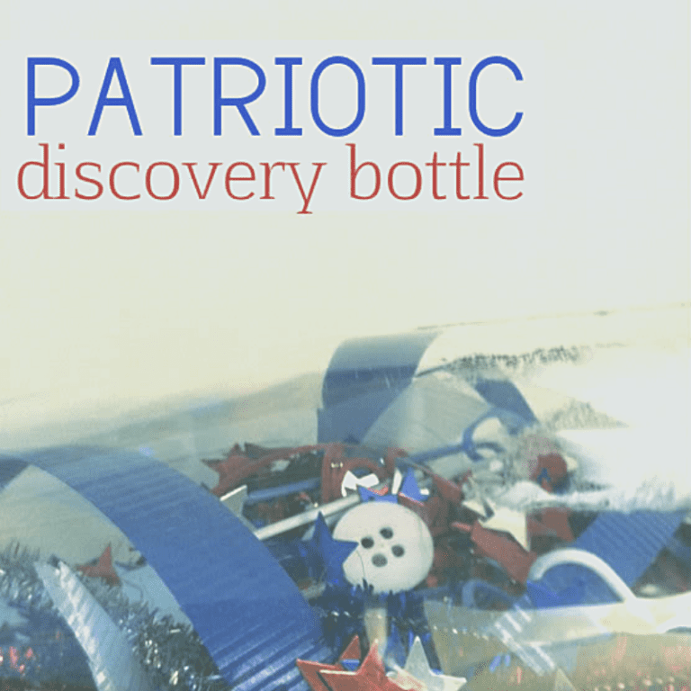 Patriotic Discover Bottle