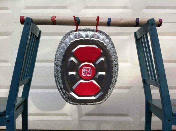 make your own gong craft