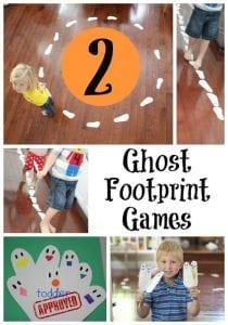 ghost footprint games