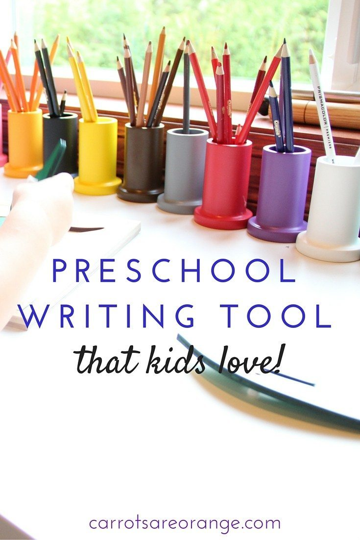 Montessori writing tool