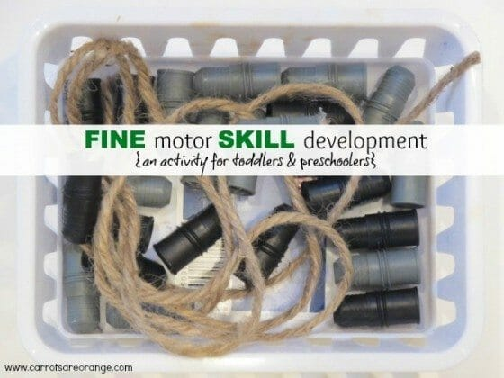 Fine Motor Activities for infants & Toddlers