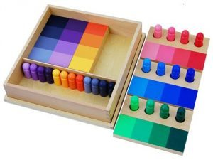 Infant Toddler Montessori Gift Guide Color Resemblance Sorting