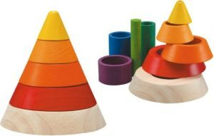 Infant Toddler Montessori Gift Guide Cone Sorting