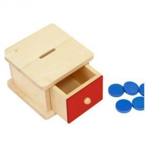 Infant Toddler Montessori Gift Guide Infant Coin Box