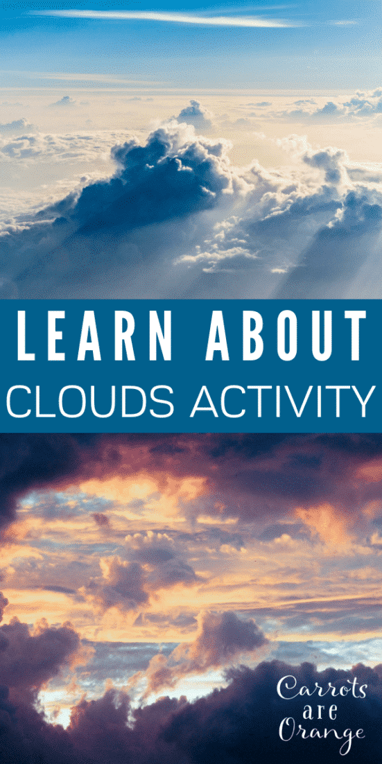 Learn about Clouds Activity for Preschoolers