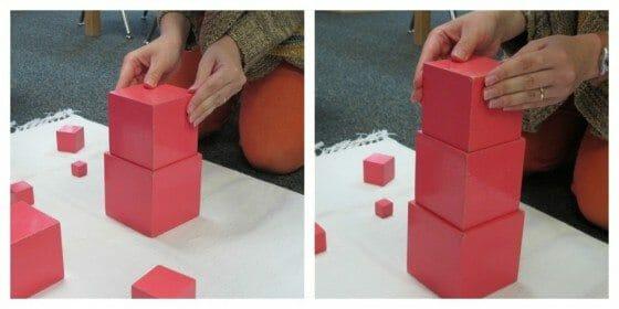 Montessori Early Childhood Sensorial Lesson