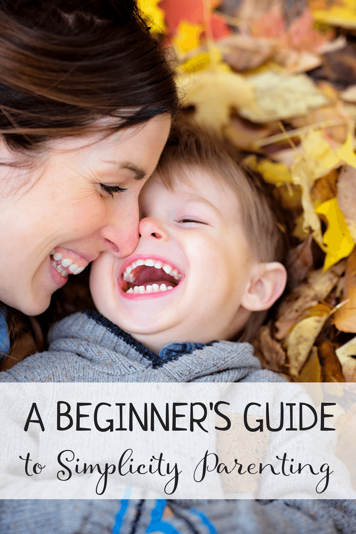 A Beginners Guide to Simplicity Parenting