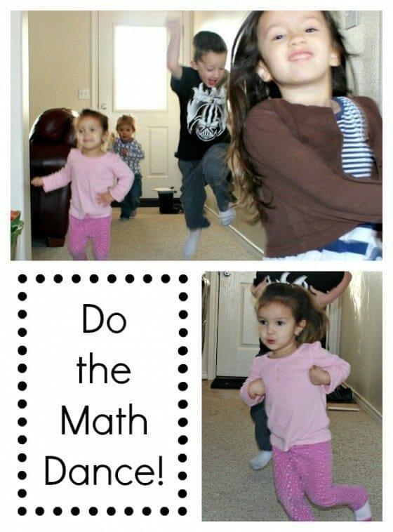 Learn Math Dance Collage