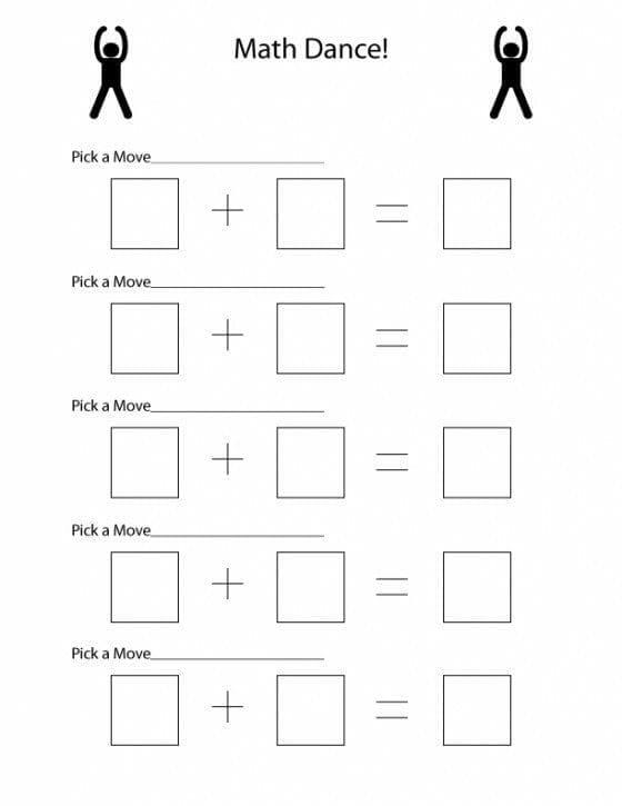 Learn Math Printable