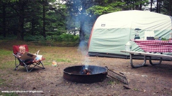 Children's Books about Family Camping