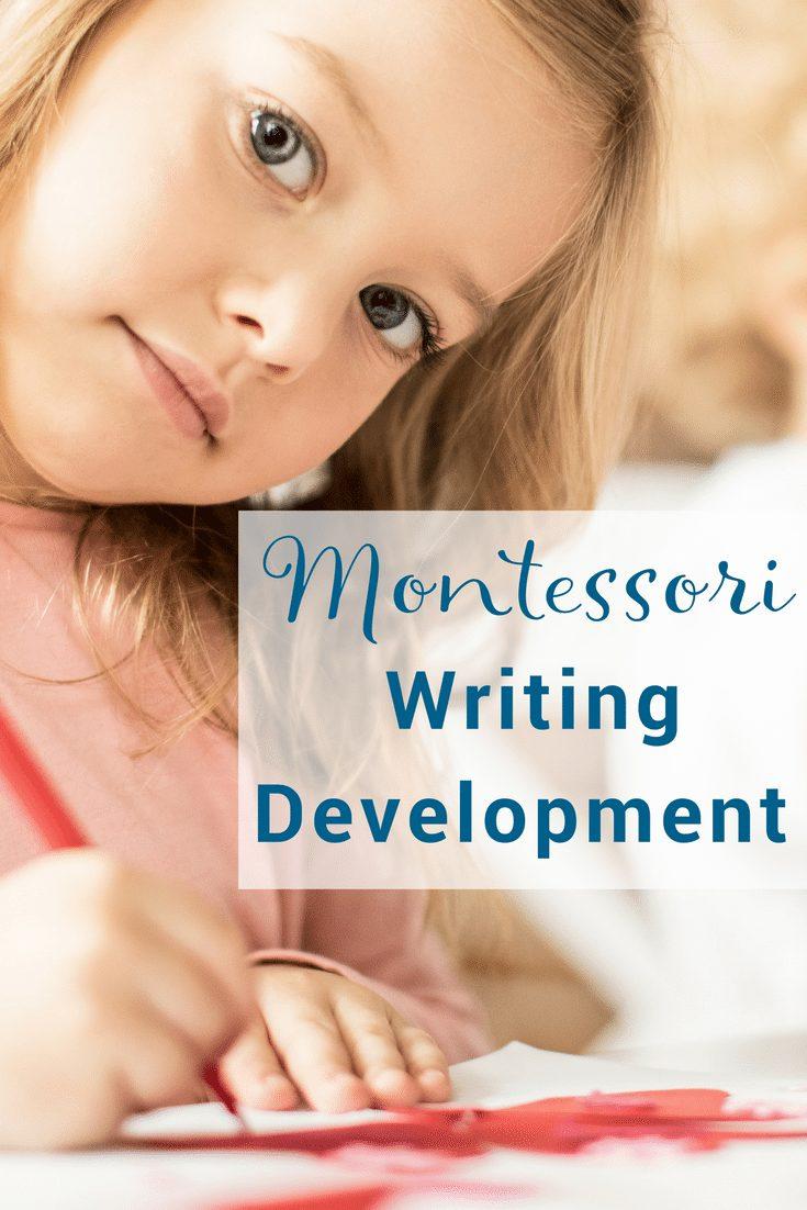 How to present Montessori writing development