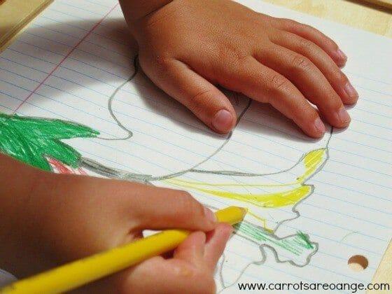 Montessori Parts of a Flower Lesson
