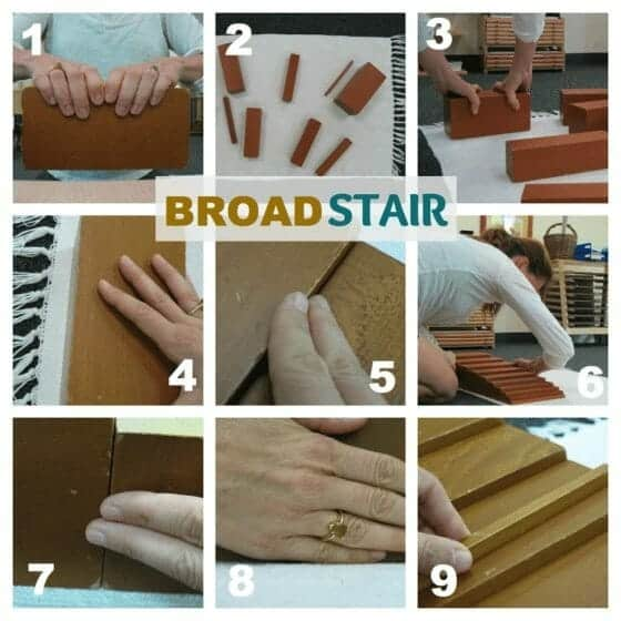 How to Do the Montessori Brown Stair Lesson