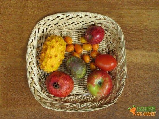 PARTS OF A FRUIT