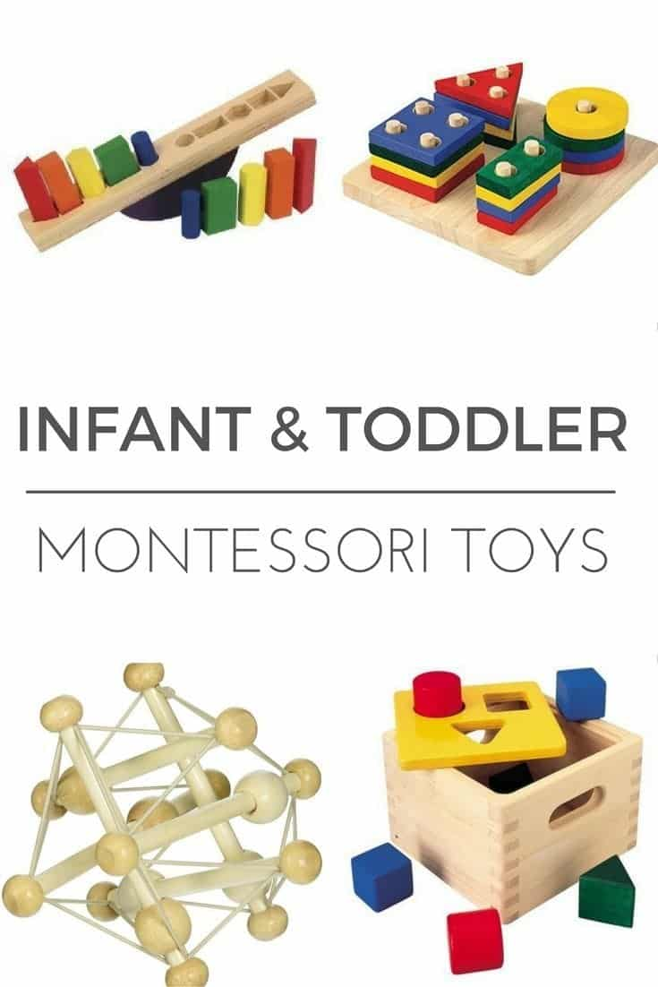 INFANT TODDLER MONTESSORI TOYS