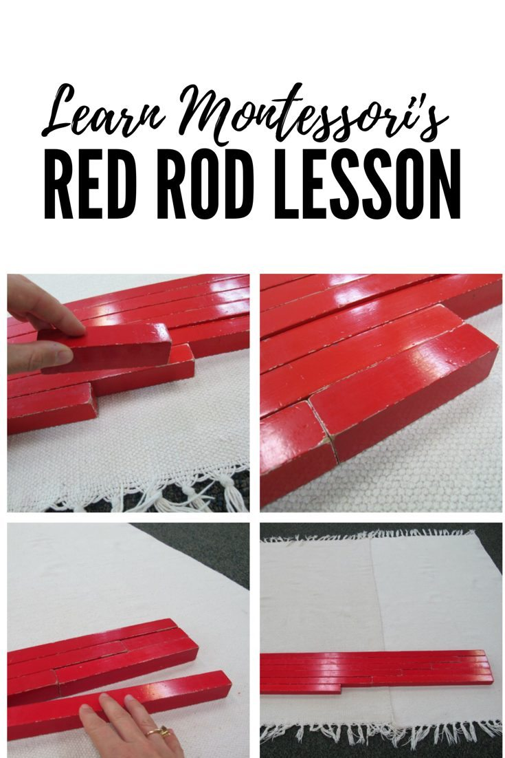 Montessori Red Rods Lesson