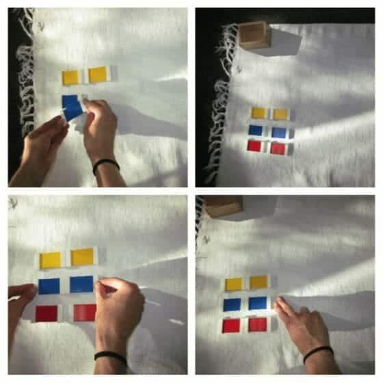 Color Tablets - Montessori Sensorial Lesson