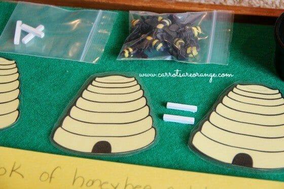 easy montessori math activity