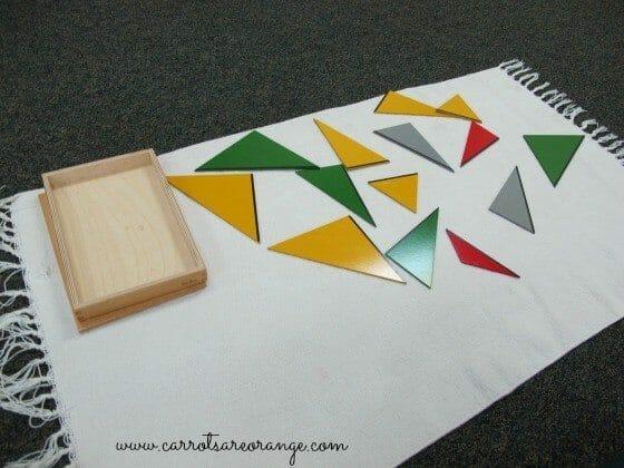 Montessori Rectangle Box