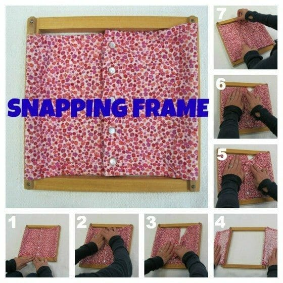 snapping frame