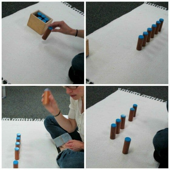 Montessori Sensorial - Sound Cylinders