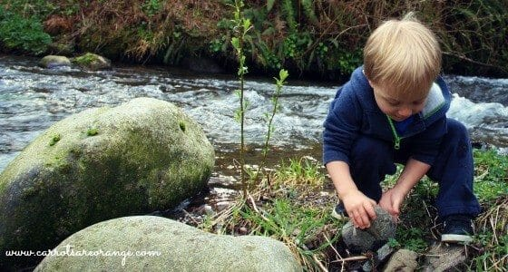 Earth Day Activities for Families - Outdoor Classroom