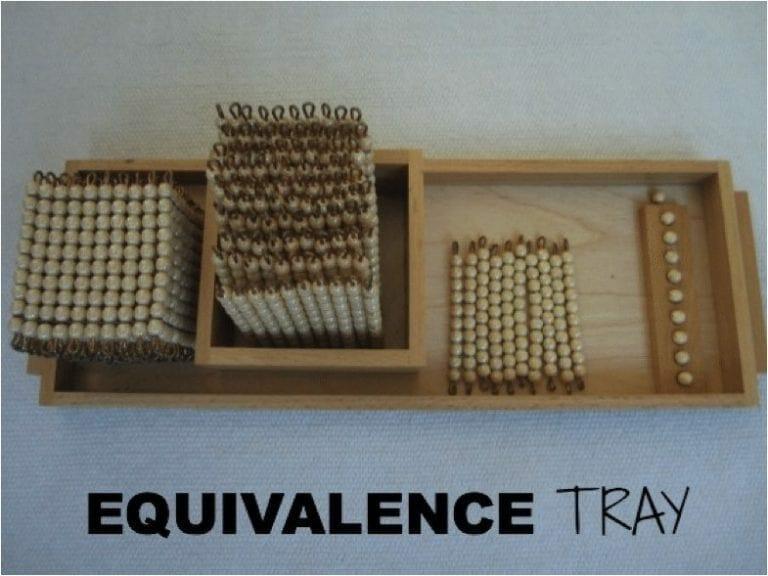 Equivalence Tray