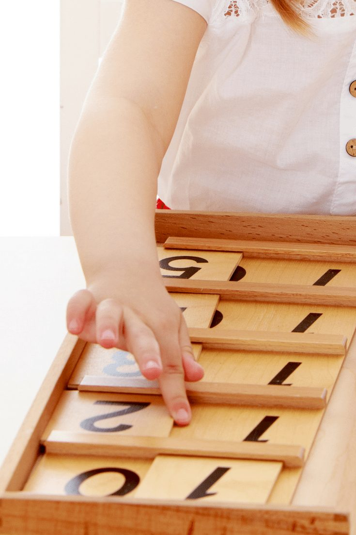 Montessori Math with Ten Boards