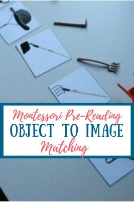 Object to Image Matching - Montessori Language Lesson