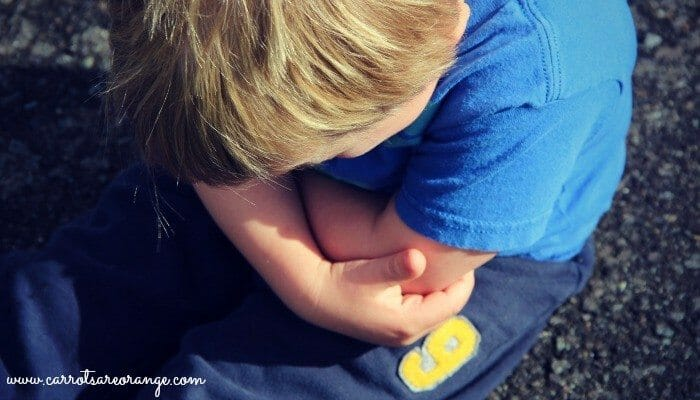 Constipation in Kids - Frustrated Child